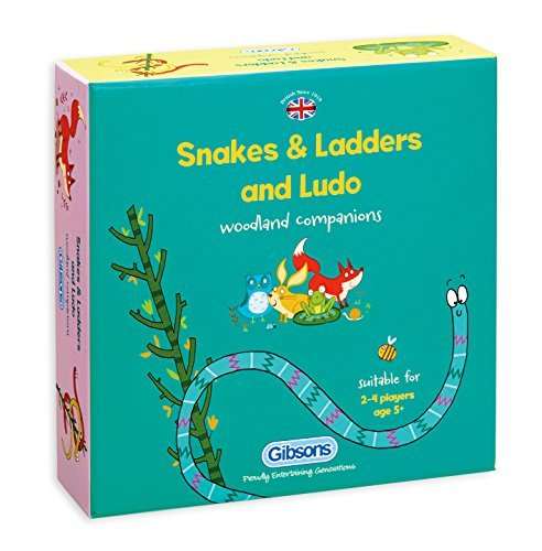 Game - Snakes And Ladders And Ludo Game - Gibsons - Bx-a4-6-t48 by Gibsons