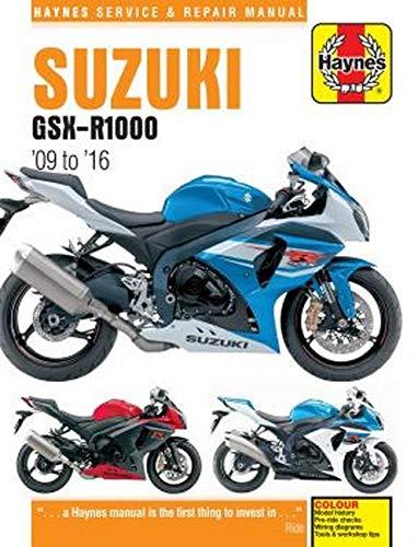 Coombs, M:  Suzuki GSX-R1000 ('09 To '16) (Haynes Service and Repair Manual)