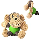Pet Squeaky Toys Plush Toys Soft Cute Cartoon Playing Toys Sound Toys Squeaky Toys Biting Toys Chew Toys for Cat Puppy Dog