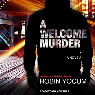 A Welcome Murder audiobook cover art