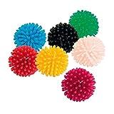 Pack de 7 bolas de erizo para gatos. Los gatos son adictos a jugar con estos (3 cm)