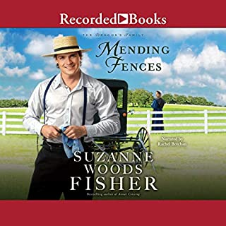 Mending Fences                   By:                                                                                                                                 Suzanne Woods Fisher                               Narrated by:                                                                                                                                 Rachel Botchan                      Length: 9 hrs and 25 mins     13 ratings     Overall 4.8