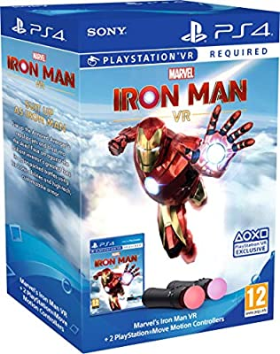 Marvel's Iron Man VR – PlayStation Move Controller Bundle by SONY