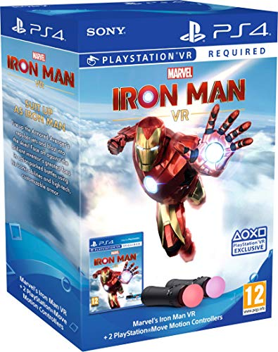 Marvel's Iron Man VR – PlayStation Move Controller Bundle [Edizione: Regno Unito]