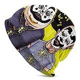 ICP Skull Caps Sombrero de Punto para Adultos Casual Unisex Moda cálido Sombrero Suave Cómodo Invierno Negro