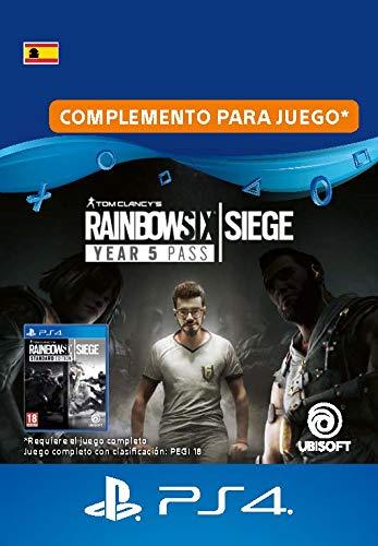 Tom Clancy's Rainbow Six Siege Year 5 Pass   Código de descarga PS4 - Cuenta española
