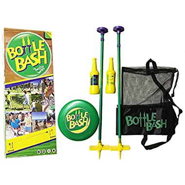 Poleish Sports Bottle Bash Standard Game Set with Soft Surface Spike