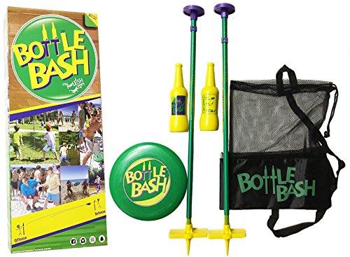 Bottle Bash Standard Game Set with Soft Surface Spike