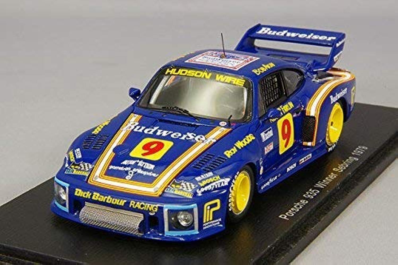 orden ahora con gran descuento y entrega gratuita Spark 43se79 Porsche 935 Winner Sebring 1979 Escala Escala Escala 1 43 Azul Amarillo  increíbles descuentos