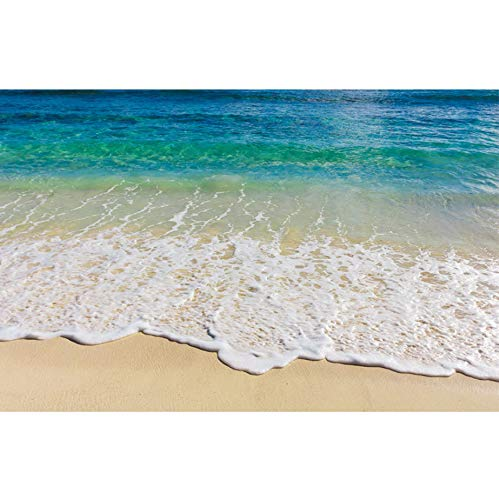 Wandaufkleber 3d Wave Strand PVC Bodenaufkleber Wandbilder Wohnzimmer Küche TV Hintergrund Badezimmer Kinderzimmer Decke Vinyl Wohnkultur 90x58m