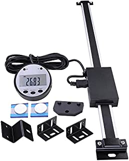 """Yescom 12"""" Remote Digital DRO Table Readout Scale for Bridgeport Mill Lathe Linear Magnetic"""
