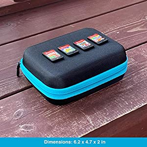 Butterfox 68 Game Card Storage Holder Case for Nintendo 3DS, 2DS, DS and Nintendo Switch (48 3DS + 20 Switch)