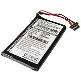 subtel® Batteria Premium Compatibile con Tomtom Go 740 Live Go 740TM Go 750 Go 750 Live Go 750 Traffic 4CP0.002.06, AHL03711012 HM9440232488 VF1A 1100mAh accu Ricambio Sostituzione