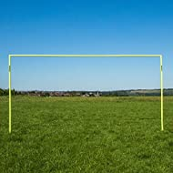 The QUICKPLAY Kickabout Football Goal is designed to be used for football training sessions and play in your garden or at your local field. 30 SECOND SET-UP – Set-up is fast and easy as poles come pre-attached with no need for complicated instruction...