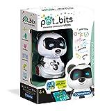 Clementoni - 12098 - Sapientino - Panda Bit, robot educativo bambini - coding per bambini 4 anni, robot coding, Pet Bits collezionabili, elettronico parlante
