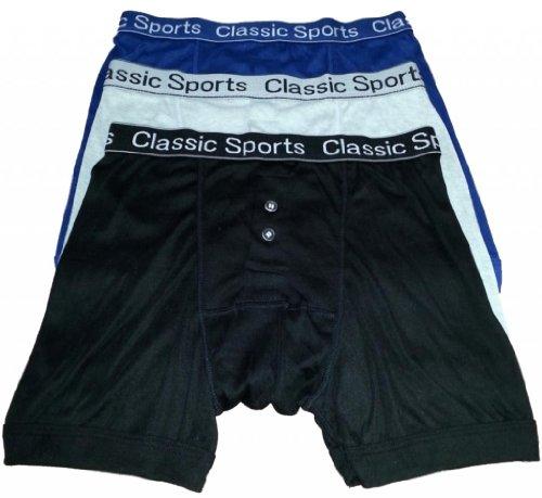12 x Classique pour Homme Sports Assorti Band Boxer – Tailles Small Medium Large XL 2 x L - - X-Large