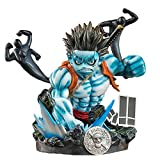 One Piece Nightmare Luffy Figure GK Demon Nightmare Luffy Fourth Stage Statue Figure Hand-Made Model Decoration Birthday Gift Anime Peripheral Doll