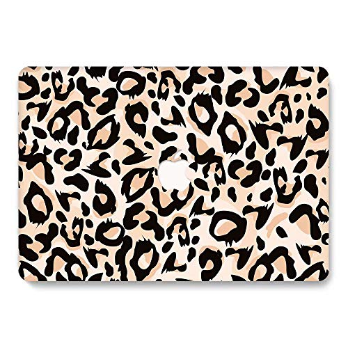 MacBook Pro 13 Case A1278 Release 2008-2012, Jiehb MacBook Protection Case for MacBook Pro 13 Inch with CD-ROM (NO Retina/Touch) Model: A1278 - Leopard 1