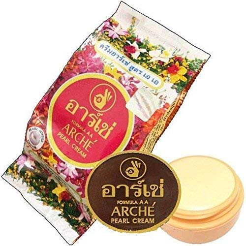 Arche Face Cleasing Pearl Cream, White (5 Grams)