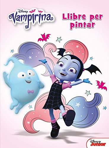 Vampirina. Llibre per pintar (Disney)