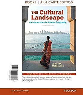 The Cultural Landscape: An Introduction to Human Geography, The, Books a la Carte Plus Mastering Geography with Pearson eText -- Access Card Package (12th Edition)
