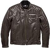 Zirtash Herren Damenmode Biker Style Design Motorradjacke SlimFit Look Edge Outwear