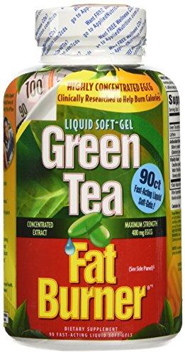 Applied Nutrition Green Tea Fat Burner Liquid Softgels, 90 ct