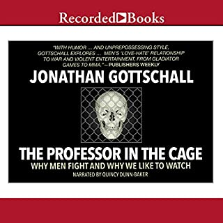 The Professor in the Cage audiobook cover art