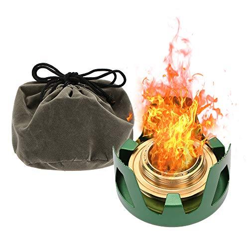 Lixada Spirit Burner Mini Ultra-light Alcohol Camping Stove Copper...