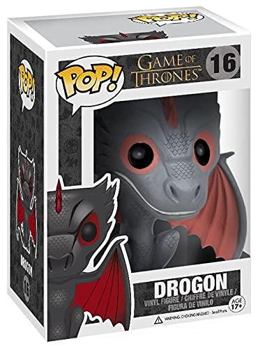 Juego de Tronos Figura Vinilo Drogon 16 ¡Funko Pop! Standard, Vinilo,