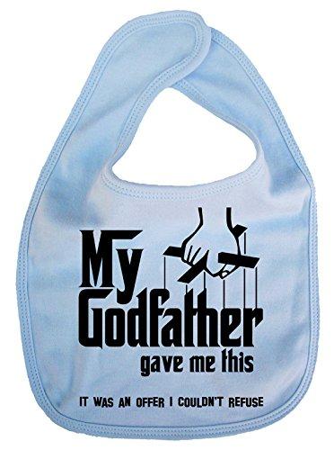 Imagen es todo–Mi padrino Me Dio este.–infantil, de bebé, alimentación babero
