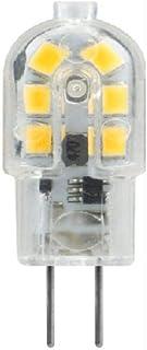 10 Uds bombilla LED 3W 5W G4 G9 bombilla de luz AC 220V DC 12V lámpara LED foco lámpara de iluminación reemplazar 20w 30w lámpara halógena-G4-3W-DC12V (transparente)_Blanco cálido