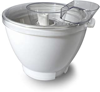 Kenwood AT956 Chef Size Ice Cream Maker KM Attachments (Silver)