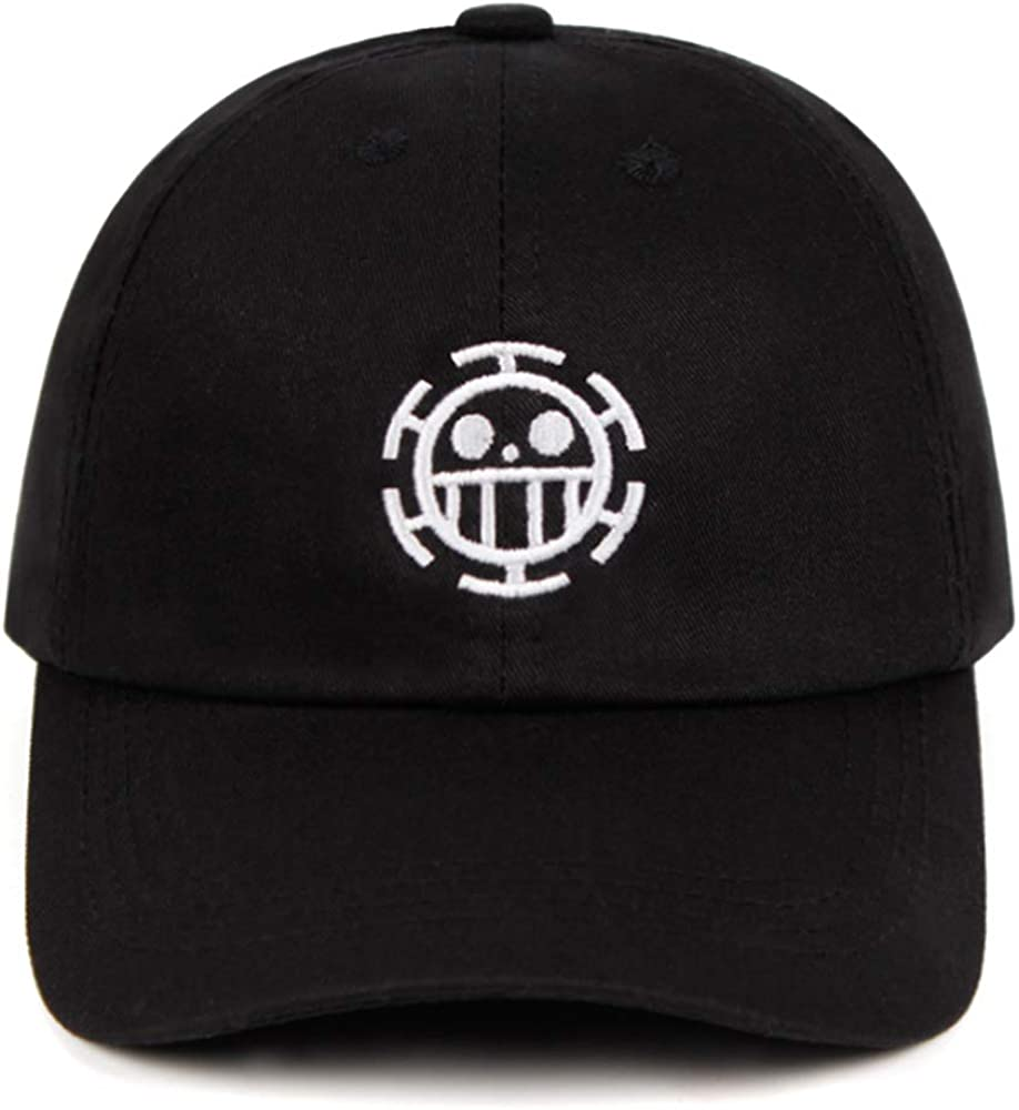 KDAND One Piece Baseball Cap Anime Hat for Man 100% Cotton Embroidered Baseball Cap