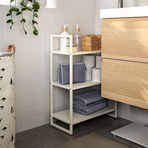 IKEA JONAXEL - Estantería (25 x 51 x 70 cm), color blanco