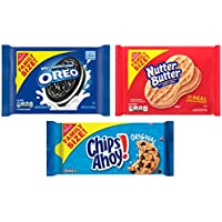 3-Pack Nabisco Oreo Chips Ahoy! & Nutter Butter Cookie Variety Pack