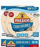 Mission Carb Balance Fajita Tortillas, Low Carb, Keto, 8 Count - 2 Packs