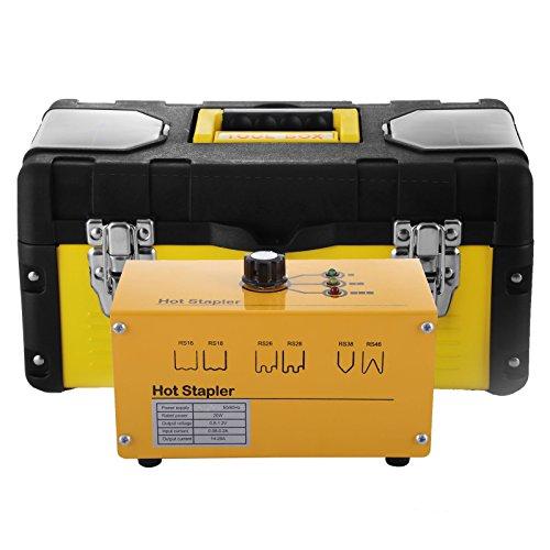 BuoQua 20W Kit Riparazione Plastica Caldo 600 Staples 1.2V Sistema Di Riparazione In Plastica Riparare Hot Stapler Hot Stapler Plastic Repair Kit 600 Staples
