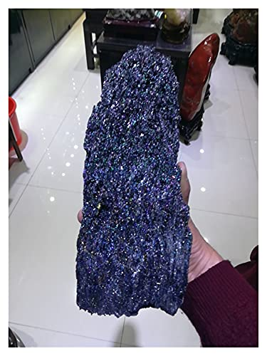YSJSPOL Piedras y Cristales 600G-1.5 kg Natural Mineral Natural Fino Mineral Natural del estándar Original del Color de Las Piedras Coloridas. (Size : 400 500g)