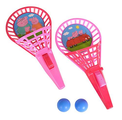 Simba 109262389 Peppa Pig Fangballspiel