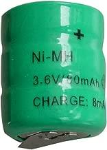 New Ni-MH 80mAh 3.6V Rechargable Battery Cells with Tab