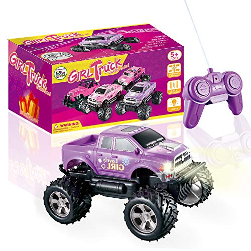 Girls Remote Control Truck Car Toy for Kids Toddlers...