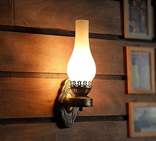 Rétro Lampe Café Restaurant Bar Applique Lampe Murale Vieilles Lampes à Huile La Lampe de Chevet Chambre Aisle
