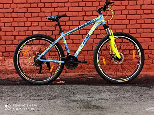 Huge Unisex Hdt67 FSDD Steel 27.5T Mountain Bike Bicycle -Sea...