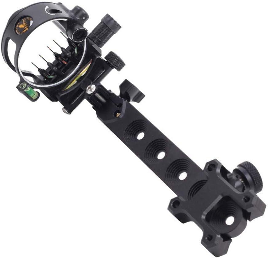 HAOYUN Compound Sacramento Mall Bow Max 76% OFF Sight 5 0.019 Adjustable Archery Pin Micro