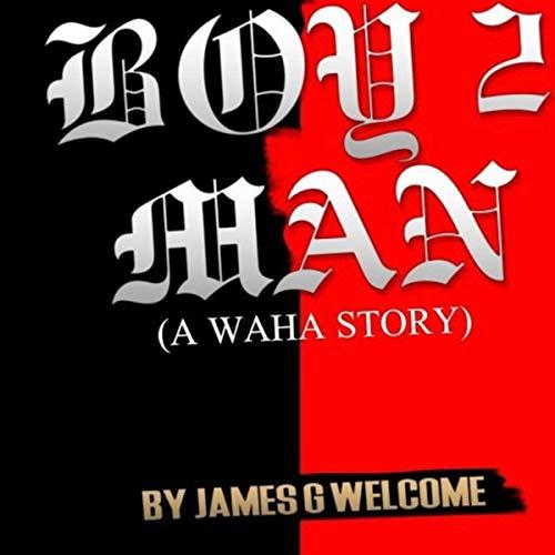 Boy 2 Man audiobook cover art
