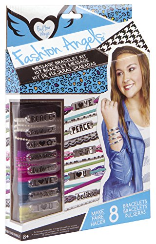 Fashion Angels Message Wrap Make Your Own Bracelets Set with Beads, Lace & more!
