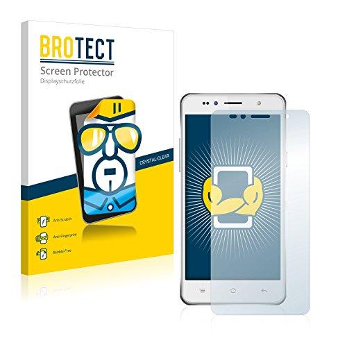 BROTECT Schutzfolie kompatibel mit Siswoo C50 Longbow (2 Stück) klare Bildschirmschutz-Folie