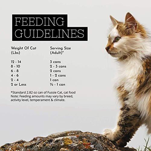 Fussie Cat Super Premium Chicken & Vegetables Formula in Gravy Grain-Free Wet Cat Food 2.82oz, case of 24