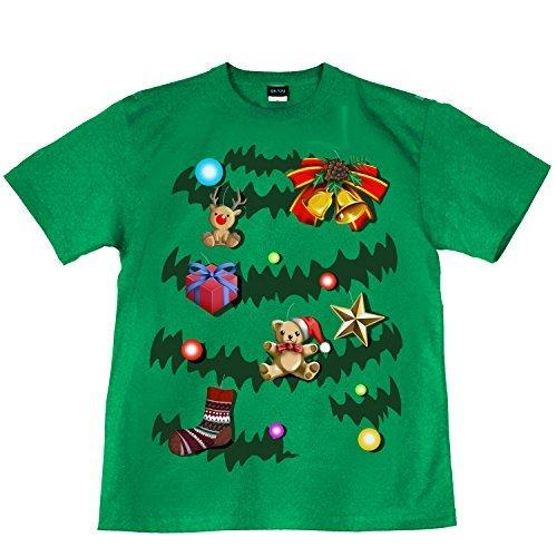 クリスマス ツリー イベント パーティ 裏もデザイン有 緑 グリーン GREEN 120cm サイズ